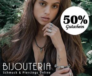 BIJOUTERIA - Schmuck & Piercings Online
